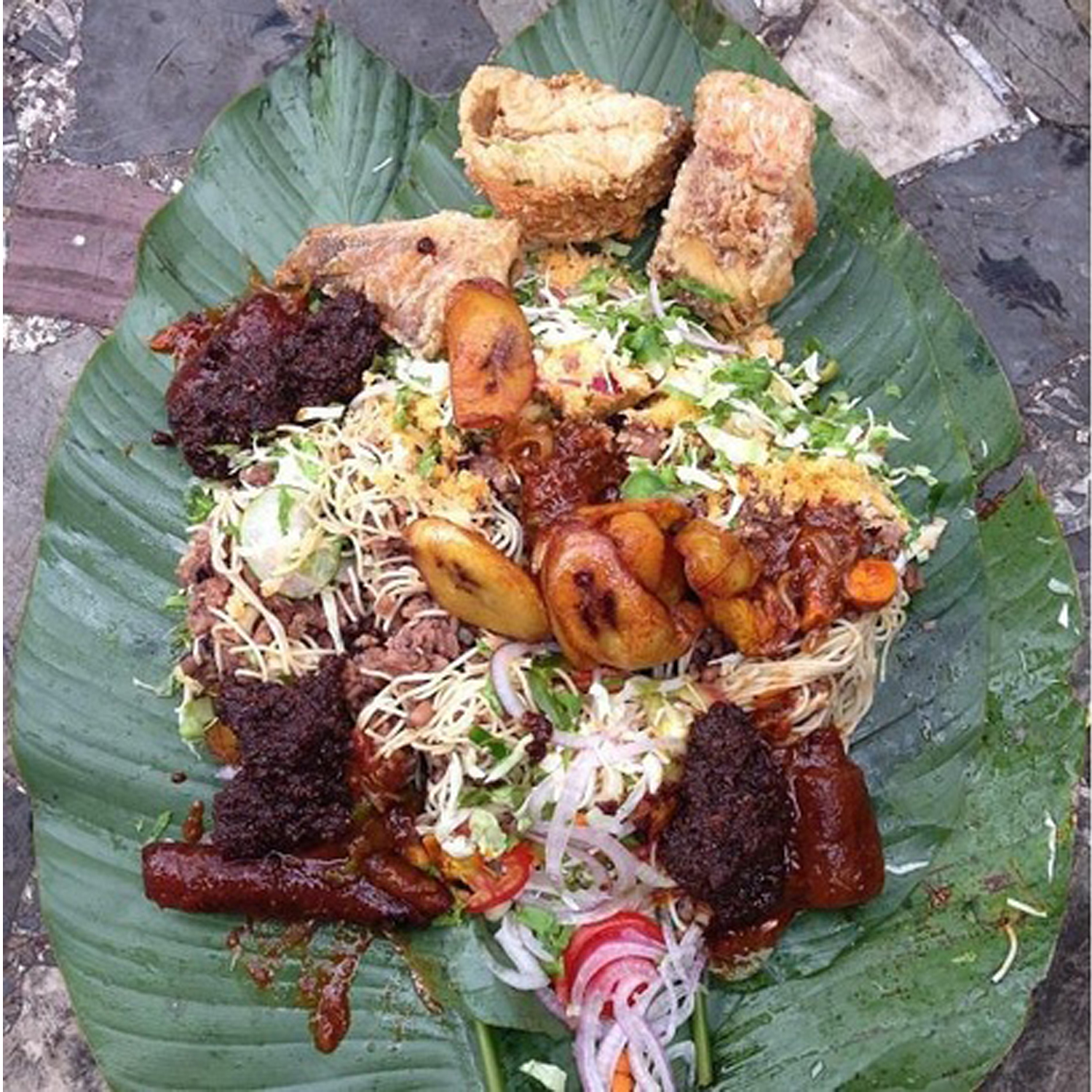All african dishes ghana recipes irri waakye for Authentic african cuisine from ghana