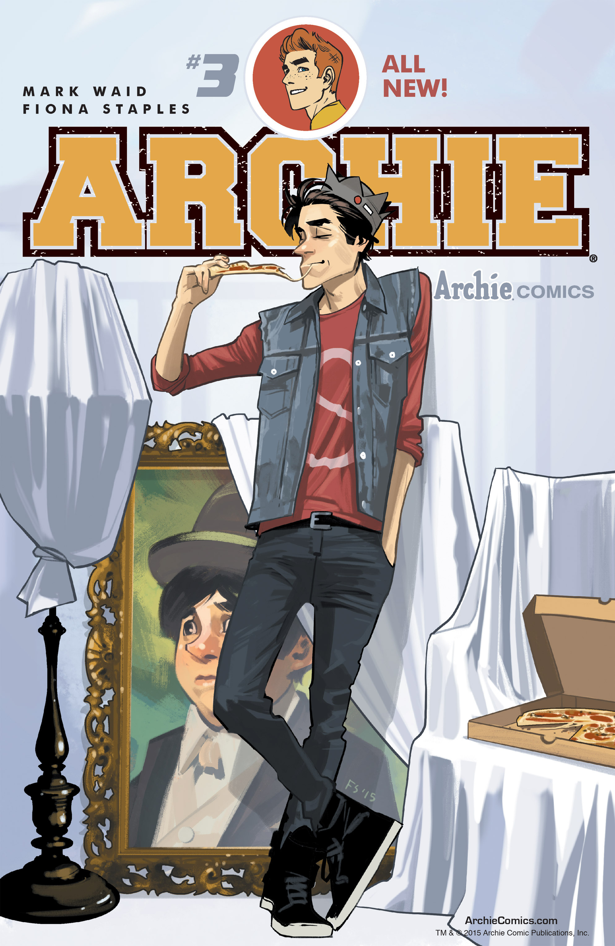 Read online Archie (2015) comic -  Issue #3 - 1
