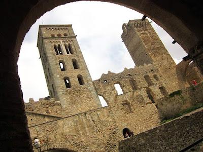 Sant Pere de Rodes monastery in La Costa Brava