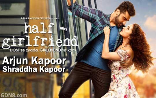 Half Girlfriend Movie Poster - Arjun & Shraddha Kapoor