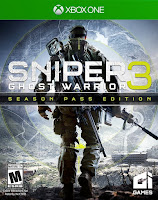 Sniper Ghost Warrior 3 Game Xbox One Cover