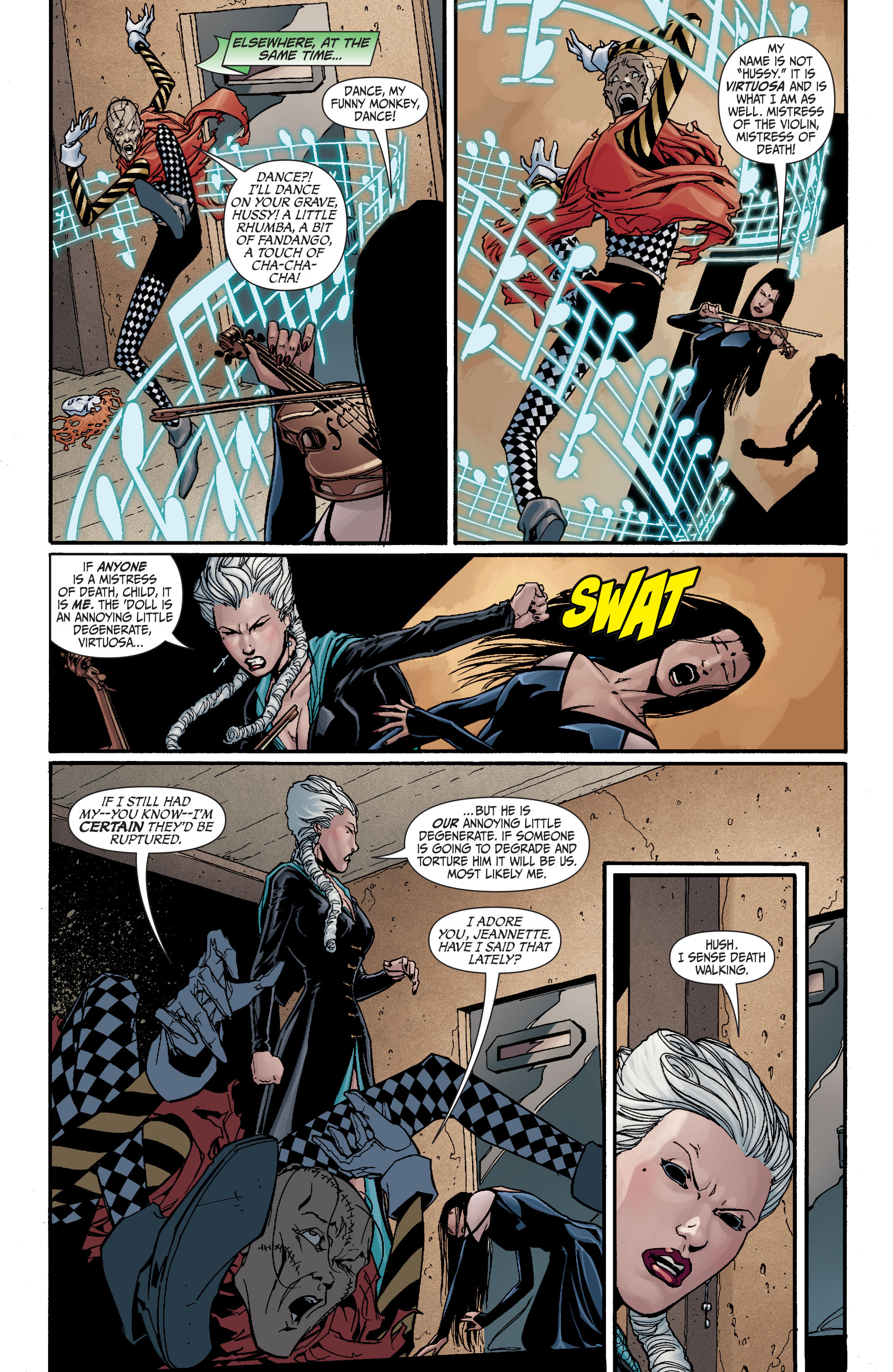 Read online Secret Six (2008) comic -  Issue #17 - 16