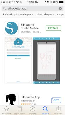 Silhouette Studio mobile