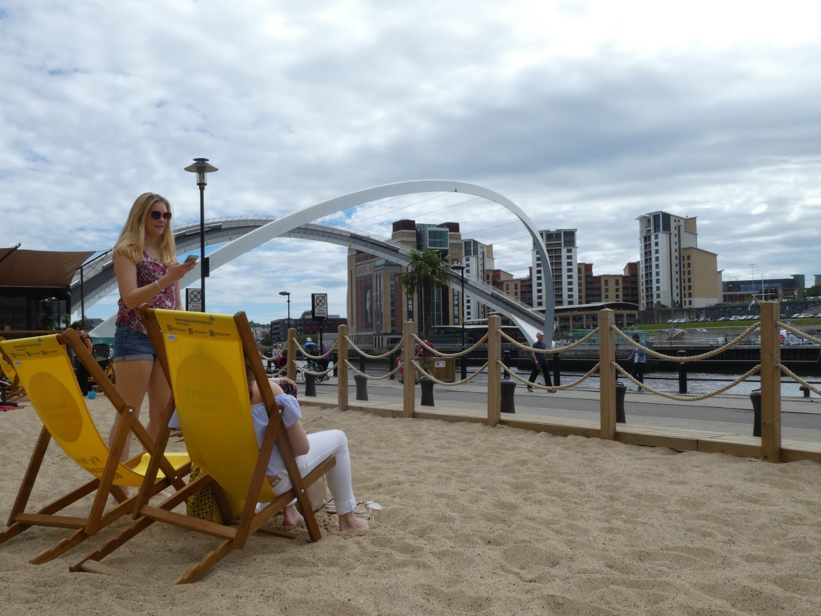 Newcastle Quayside Seaside