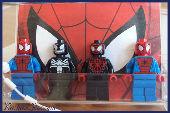 Ideal for just showing off your Lego Spider-man collection