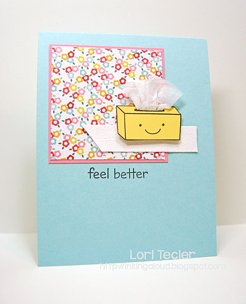 Feel Better card-designed by Lori Tecler/Inking Aloud-stamps from Lawn Fawn