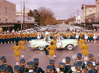 Tivy Pep Rally downtown Kerrville 1956