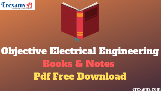 Objective Electrical Engineering Books Pdf Free Download