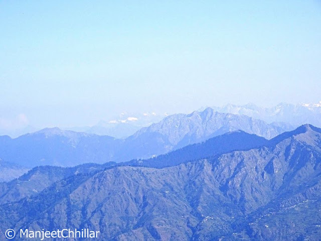 View of Shri Khand Mahadev Peak
