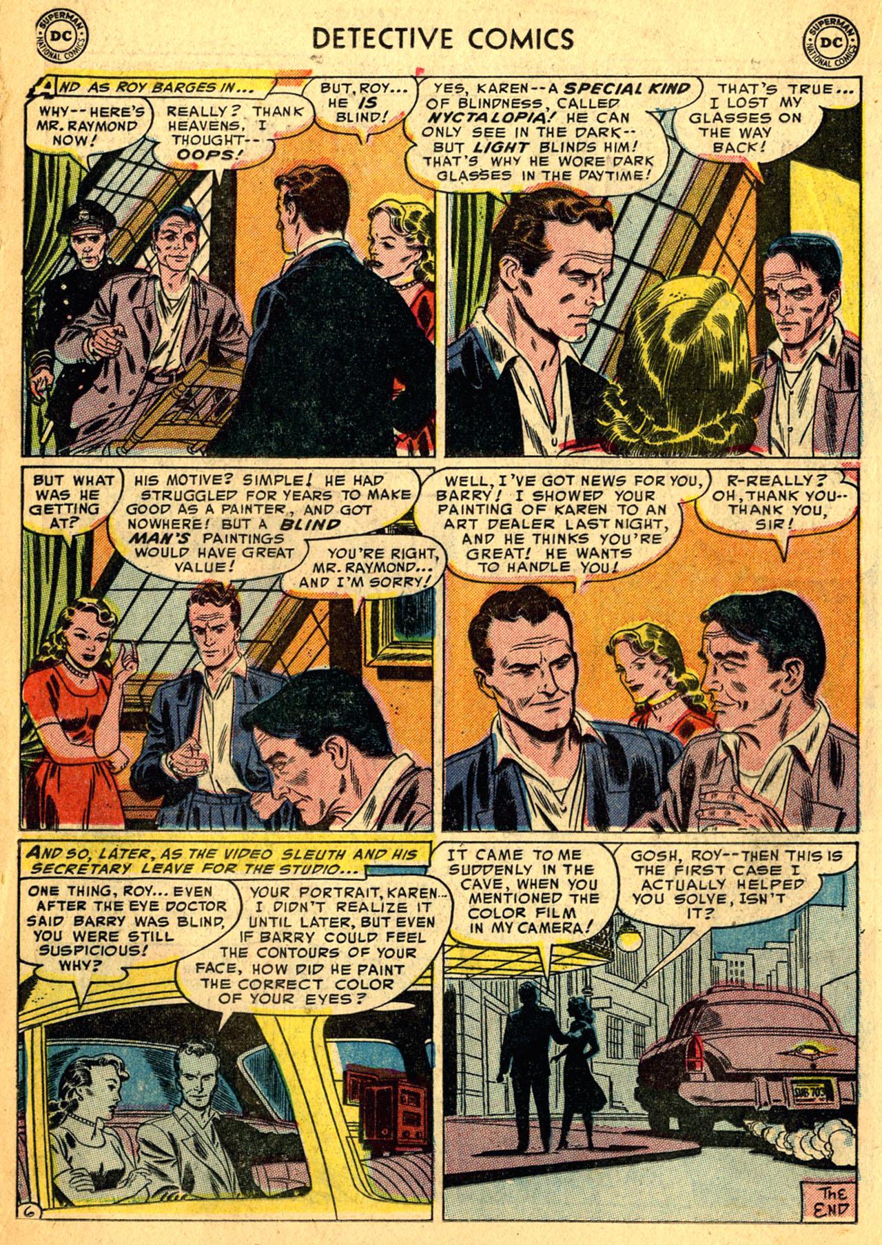 Read online Detective Comics (1937) comic -  Issue #205 - 22