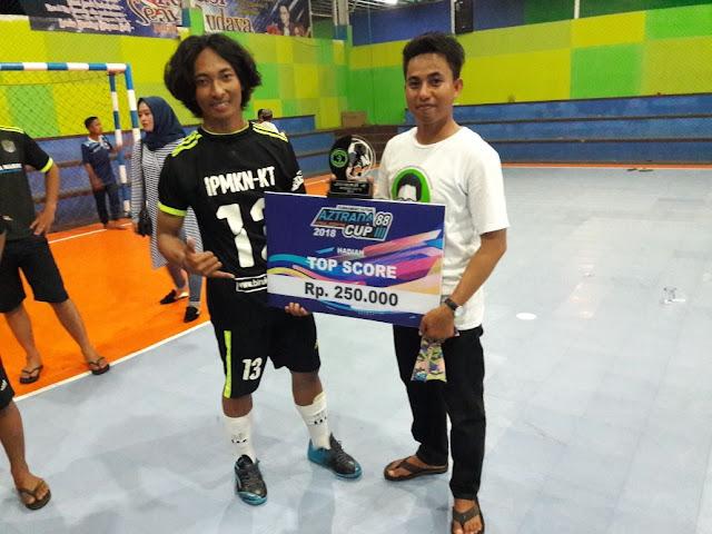 51e002a6 46b8 450e be90 2a677cbe5021 - Tim Futsal IPMKN-KT Meraih Top Score Pada PertandinganFutsal Aztrada Cup 88 Ke-III.