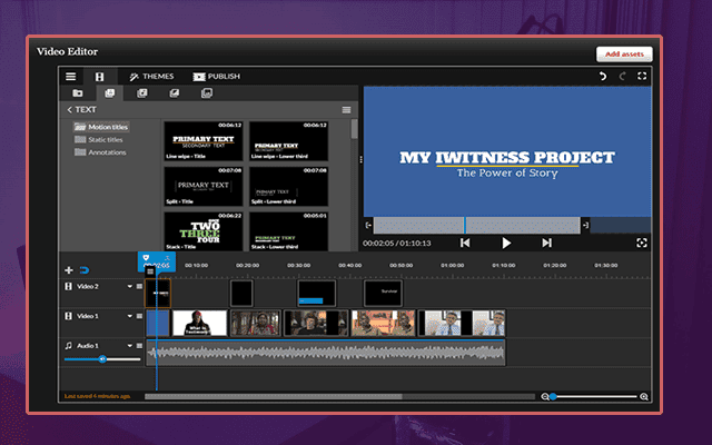 طريقة انشاء وتعديل الفيديوهات أون لاين بجودة 4k ورفعها على يوتيوب وفيسبوك بدون برامج