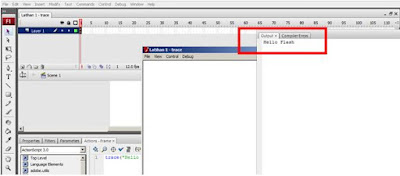 actionscript 3 di adobe flash cs3 test movie result