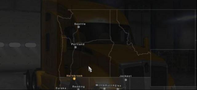 American Truck Simulator Mexuscan v.0.3 Map Beta Map Download MODs