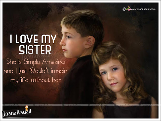 Brother and Sister Loving Relationship Value Quotes in ...