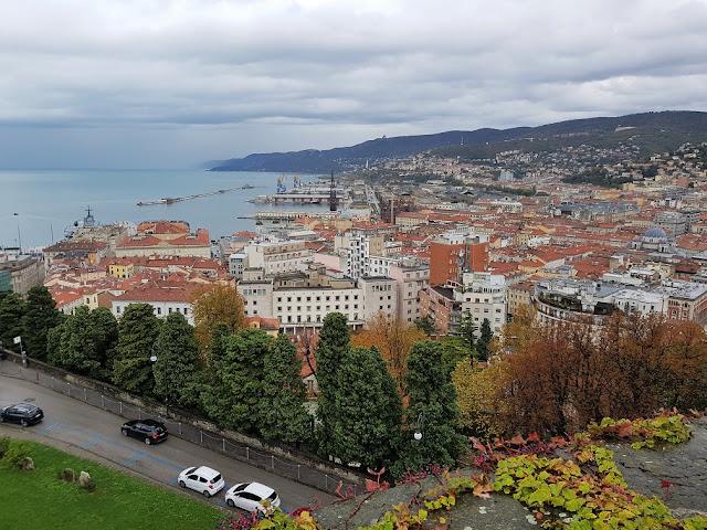 Trieste vista dall'alto