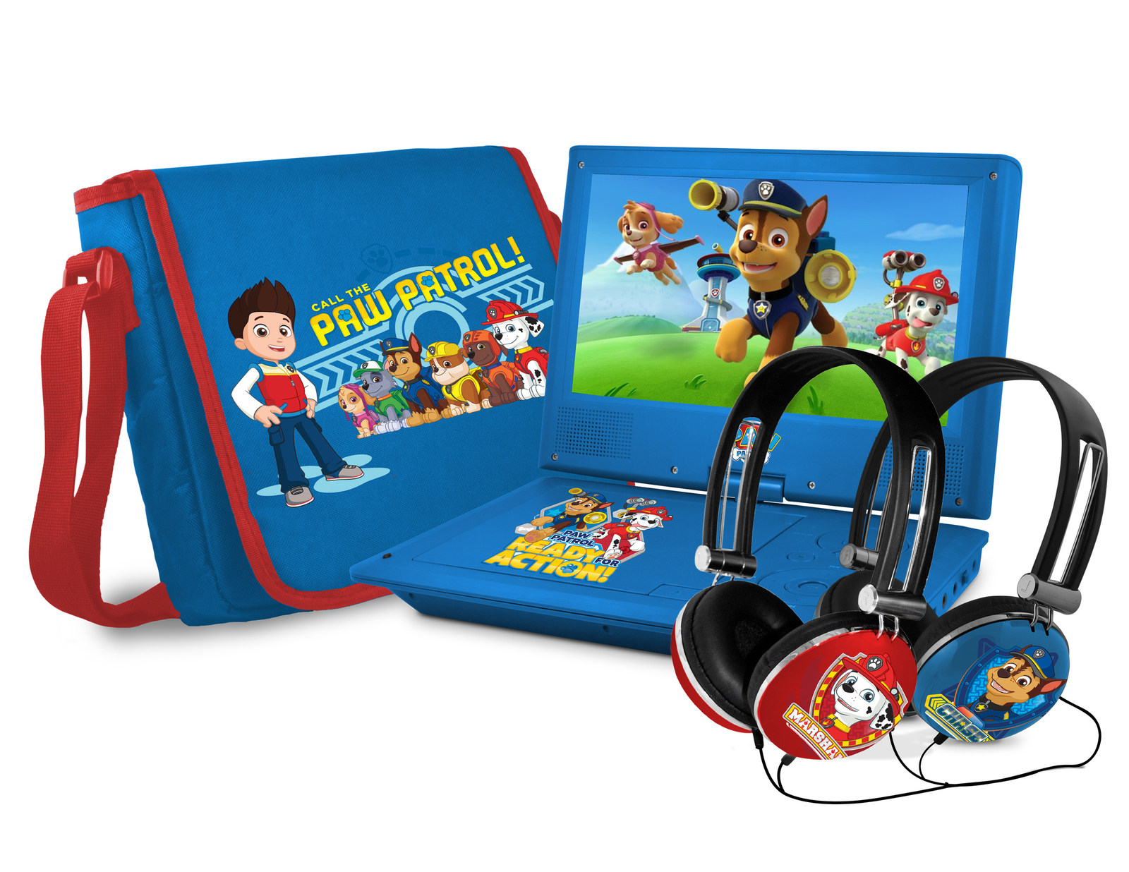 Ni nick jr games and coloring on online - Paw Patrol Portable Dvd Player Headset And Carry Case