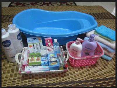 Peralatan mandi bayi,perlengkapan mandi bayi cussons, perlengkapan mandi bayi zwitsal
