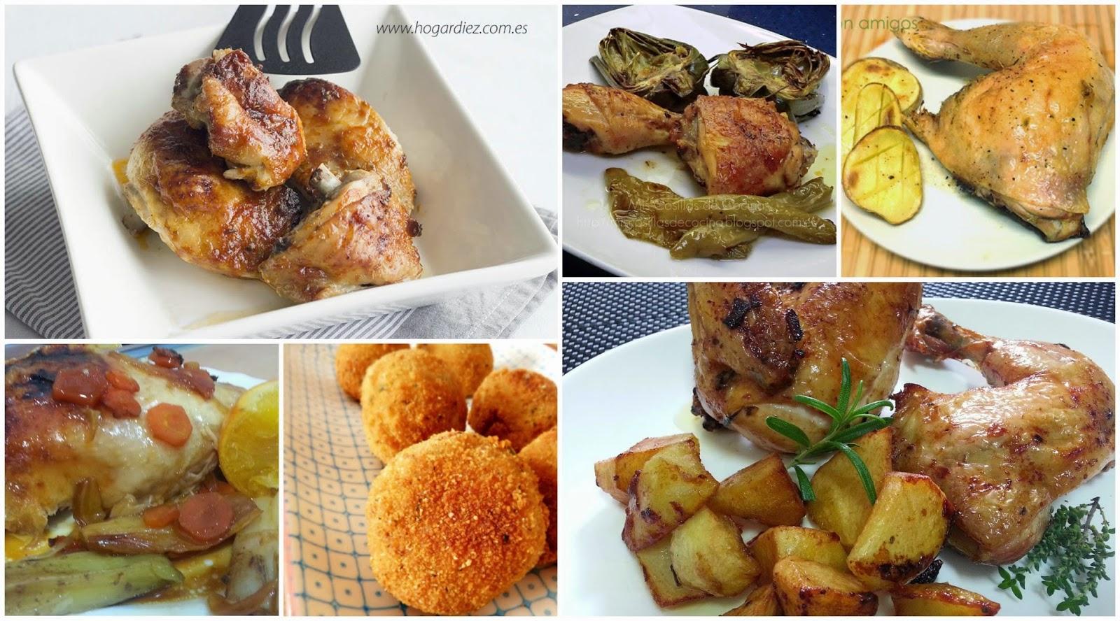 Diferentes y variadas formas de hacer un pollo asado for Cocinar un pollo entero