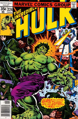 Incredible Hulk #224, the Leader and his tripod