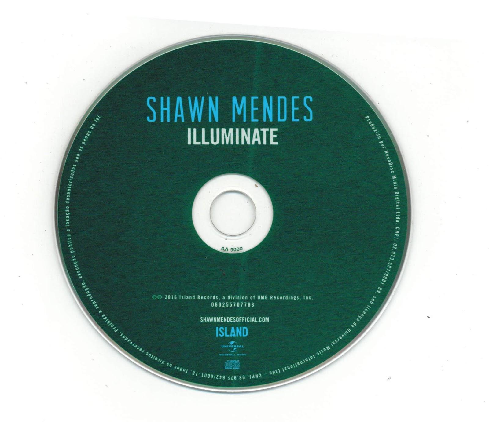 Illuminate Deluxe Shawn Mendes: Encartes Pop: Encarte: Shawn Mendes