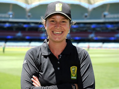 Claire Polosak Becomes First Female Umpire in a Men's ODI