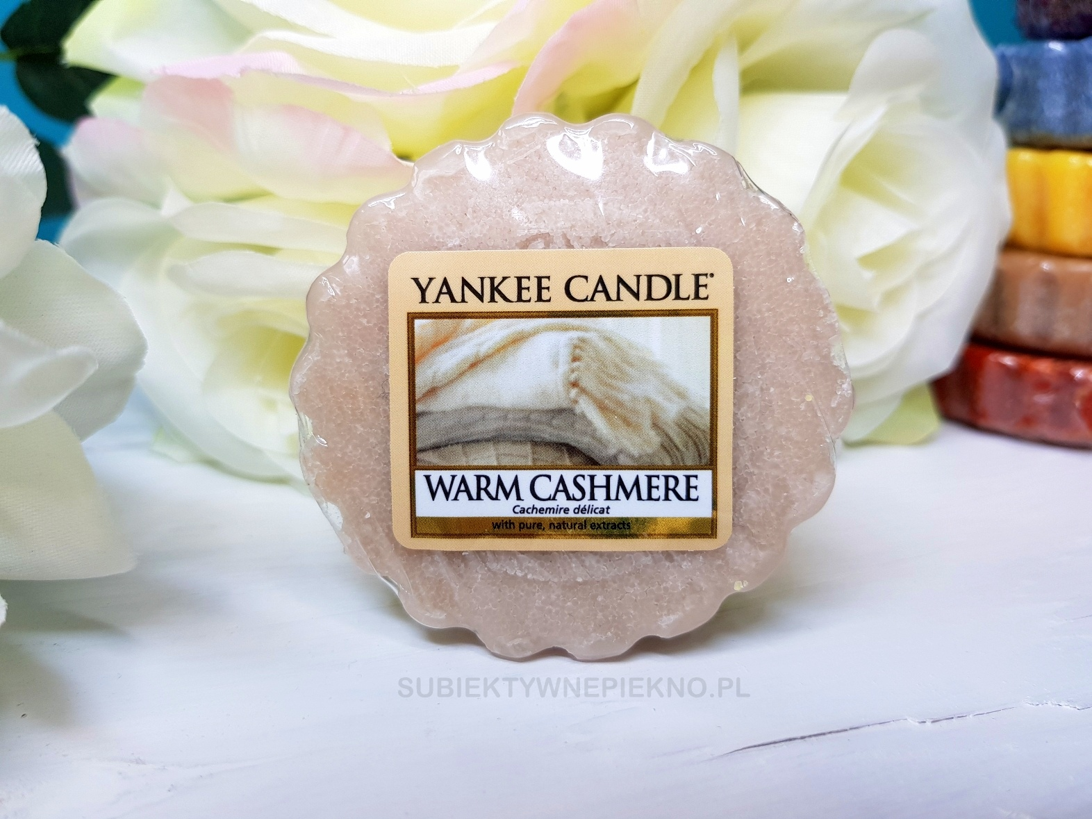 wosk zapachowy Warm Cashmere Yankee Candle Q3 2017 opinie blog