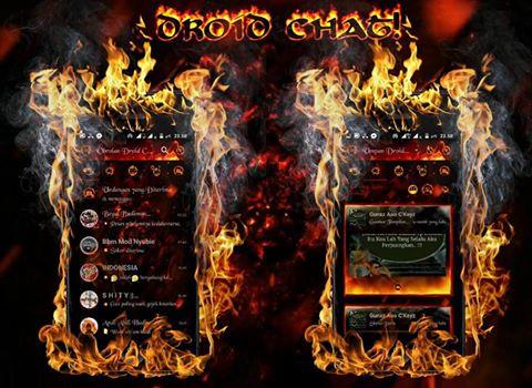 Droid Chat! v13.0.13 Legend Of Fire Based BBM v3.1.0.13 Apk Terbaru