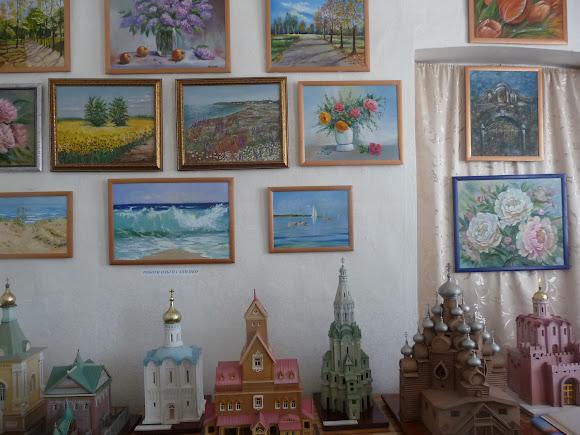 Генічеськ. Краєзнавчий музей. Картини місцевих художників
