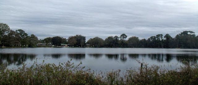 Lake Katherine al comienzo del recorrido