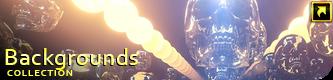 Neon Glowing Stars Tunnel - 31