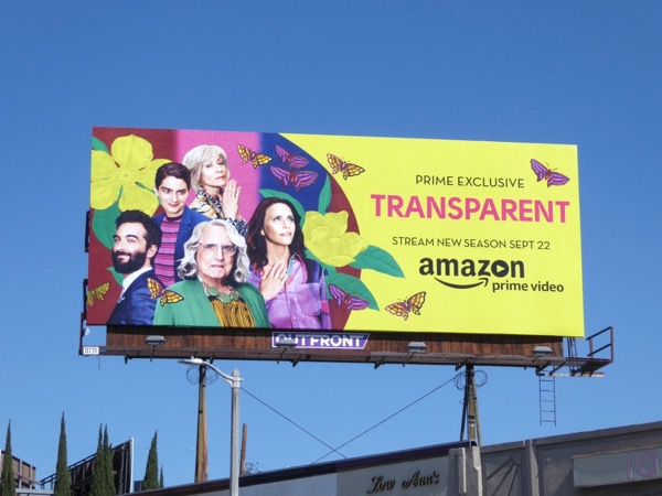 Transparent season 4 Amazon billboard