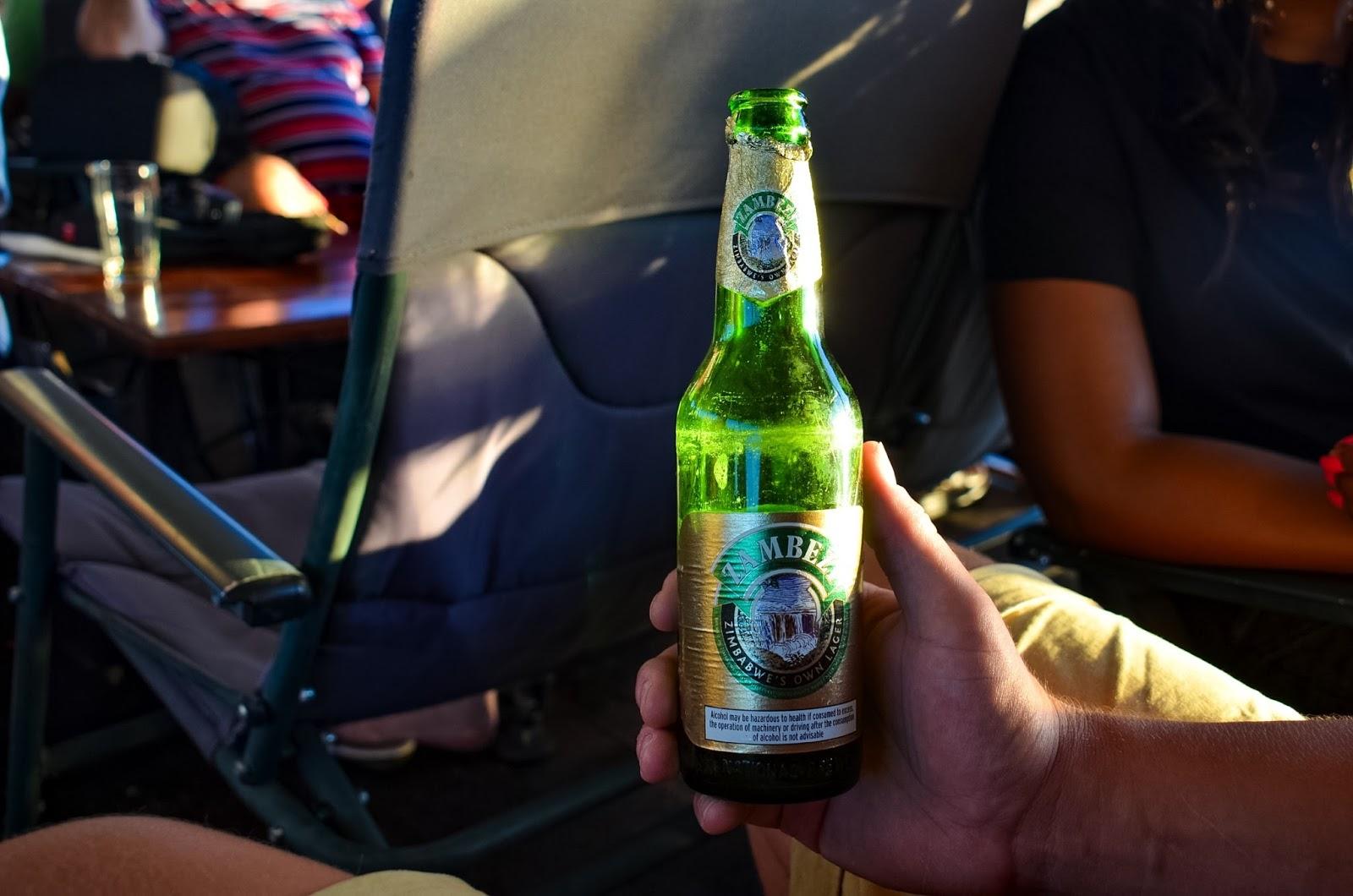 zambezi's local beer