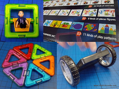Magformers Wow Box building toy wheels Review (age 3+)