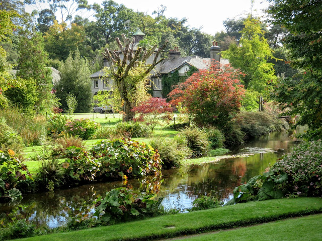Mount Usher Gardens in County Wicklow