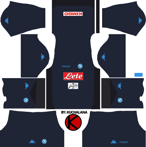 Ssc Napoli 2017 18 Dream League Soccer Kits Kuchalana