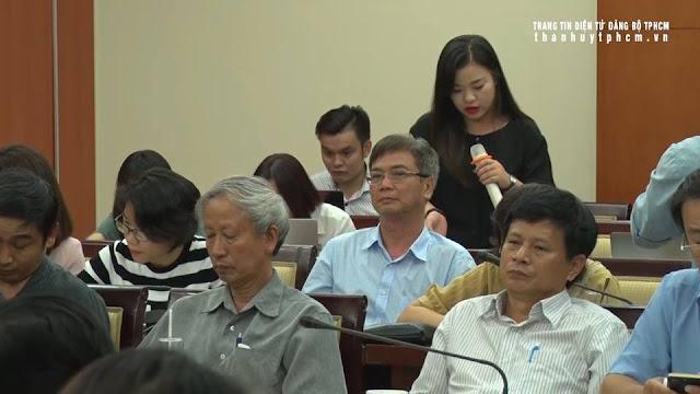 Lãnh đạo TPHCM họp mặt báo chí đầu năm 2019 ảnh 4
