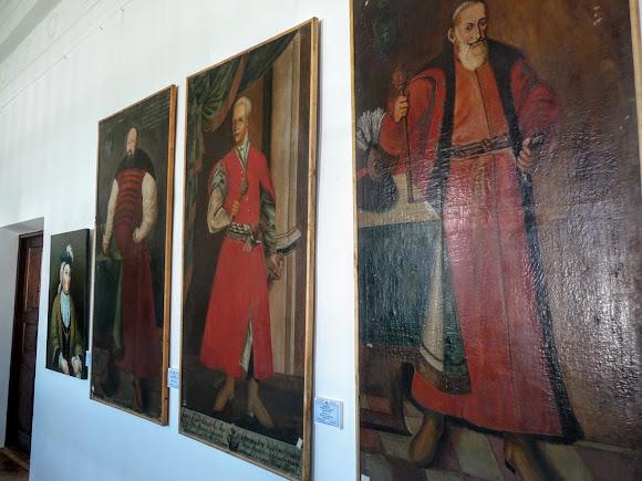 Вишнівецький палац. Картинна галерея