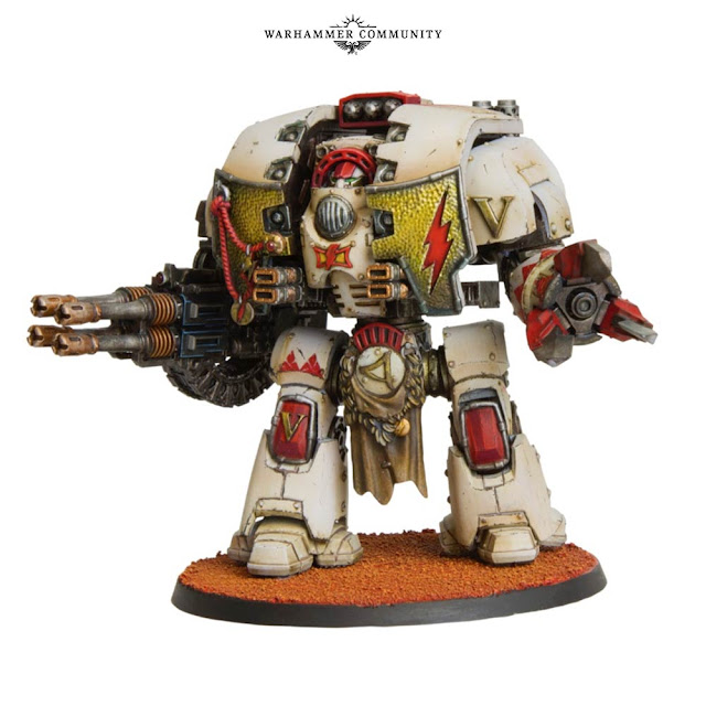 Dreadnought Leviathan Cicatrices Blancas