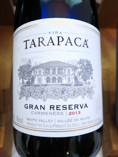 Viña Tarapacá Gran Reserva Carmenère 2013 - Maipo Valley, Chile (88 pts)