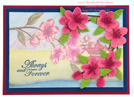 #thecraftythinker #stampinup #cardmaking #saleabration #minicatalogue #foreverblossoms , sale-a-bration, Forever Blossoms, Mini Catalogue, Stampin' Up Demonstrator, Stephanie Fischer, Sydney NSW