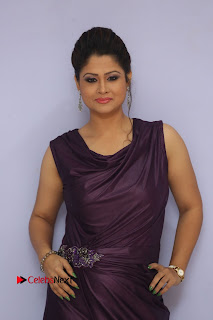 Television Anchor Shilpa Chakravarthy Pictures at Pratikshanam Audio Launch  0084.jpg