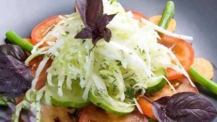 салат из капусты по грузински