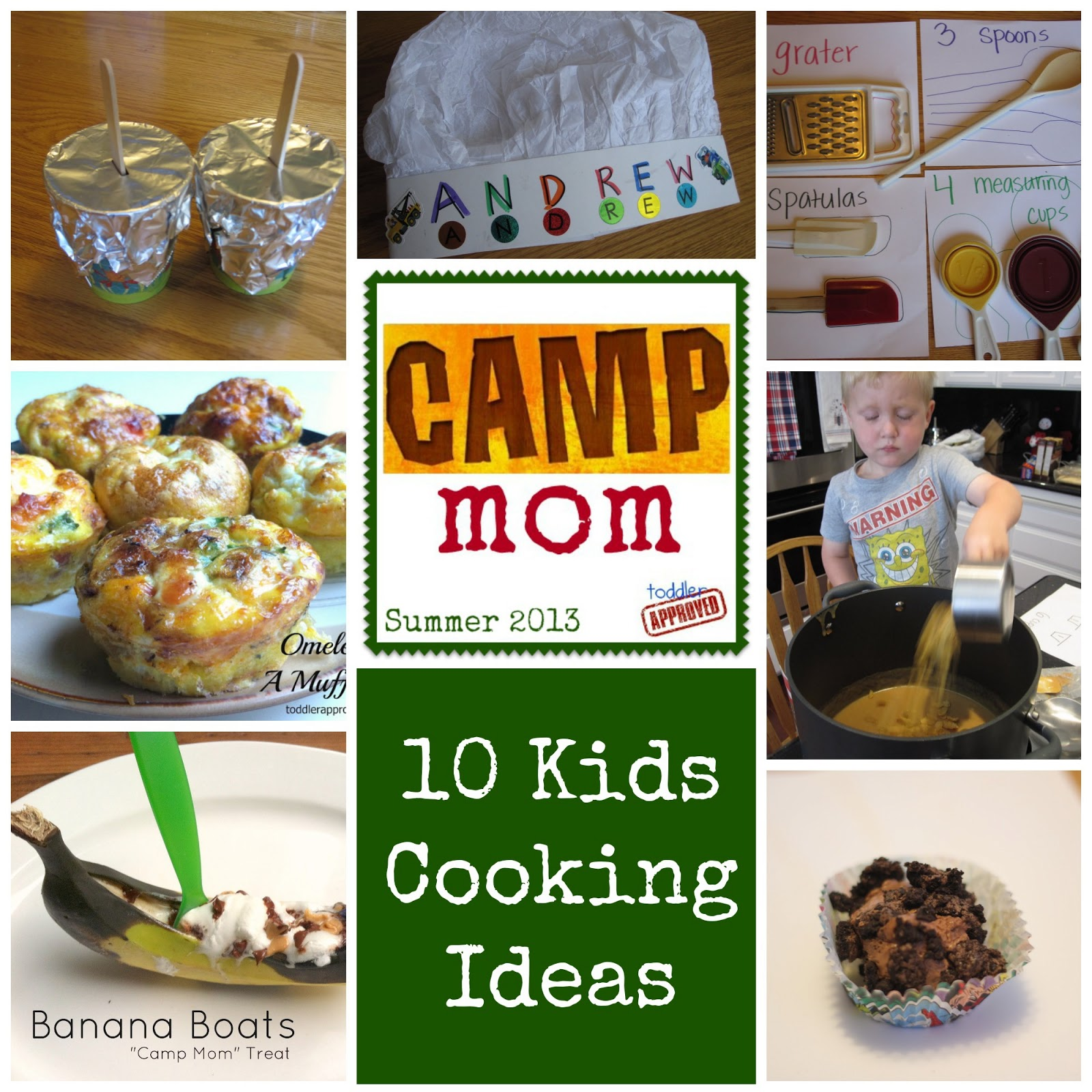 10 Camp Mom Cooking Activities For Kids