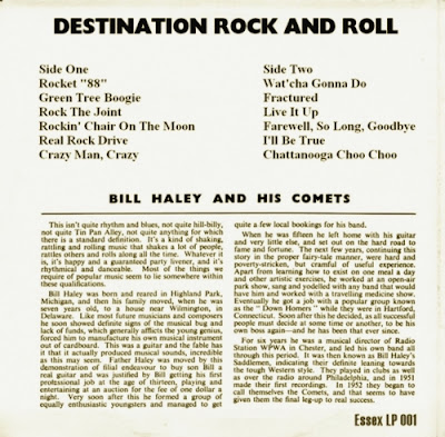 Be Bop Wino Bill Haley Destination Rock And Roll
