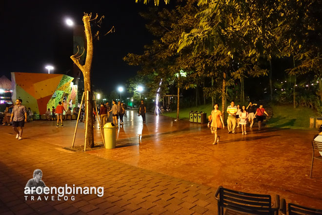 inlineskateboard scientia square park tangerang