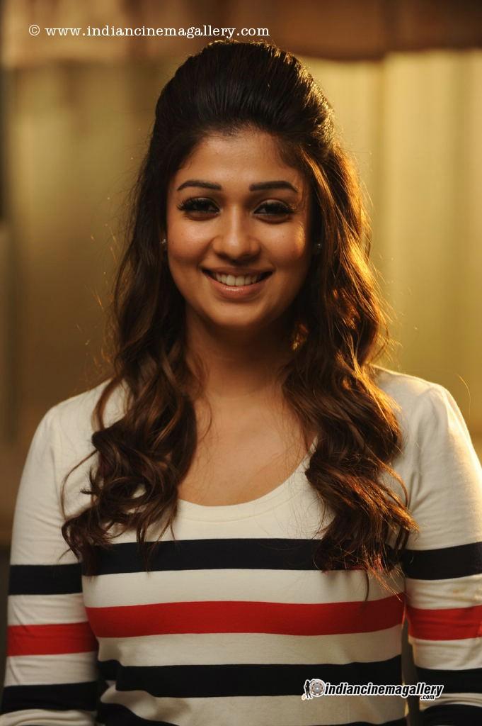 Beautiful Tamil Actress Nayantharas Hairstyle Looks