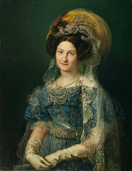 María Christina by Vicente López y Portaña, 1830