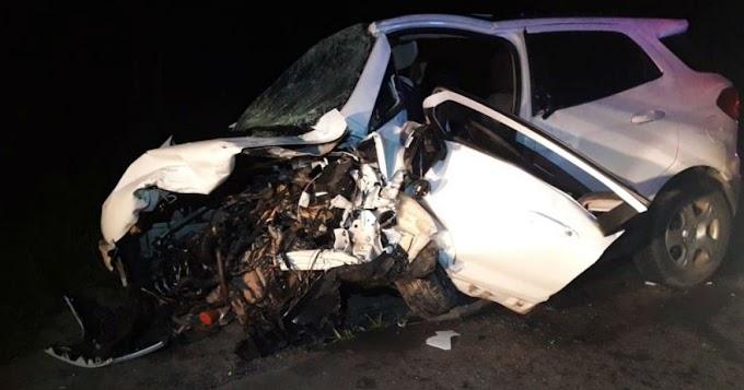 Pai, filho e outras duas pessoas morrem em colisão no sul da Bahia