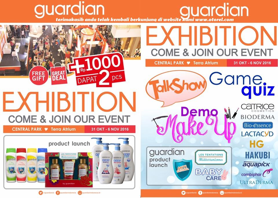 Guardian Exhibition Promo Event Hingga 06 November 2016